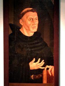 Martin Luther in der Zeit als Mönch