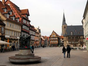 Quedlinburg-Marktplatz